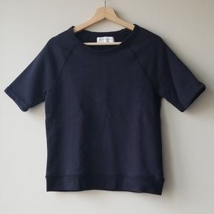 Everlane Sz XS Short Sleeve Sweatshirt
